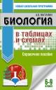 Биология в таблицах и схемах 6-9 кл. Справочное пособие
